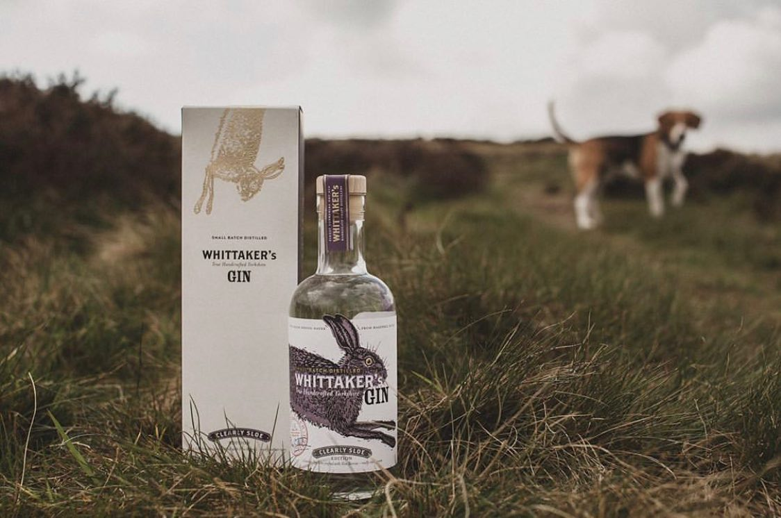 Sample Whittaker's Gin, available to buy in Barkers Kitchen from £36