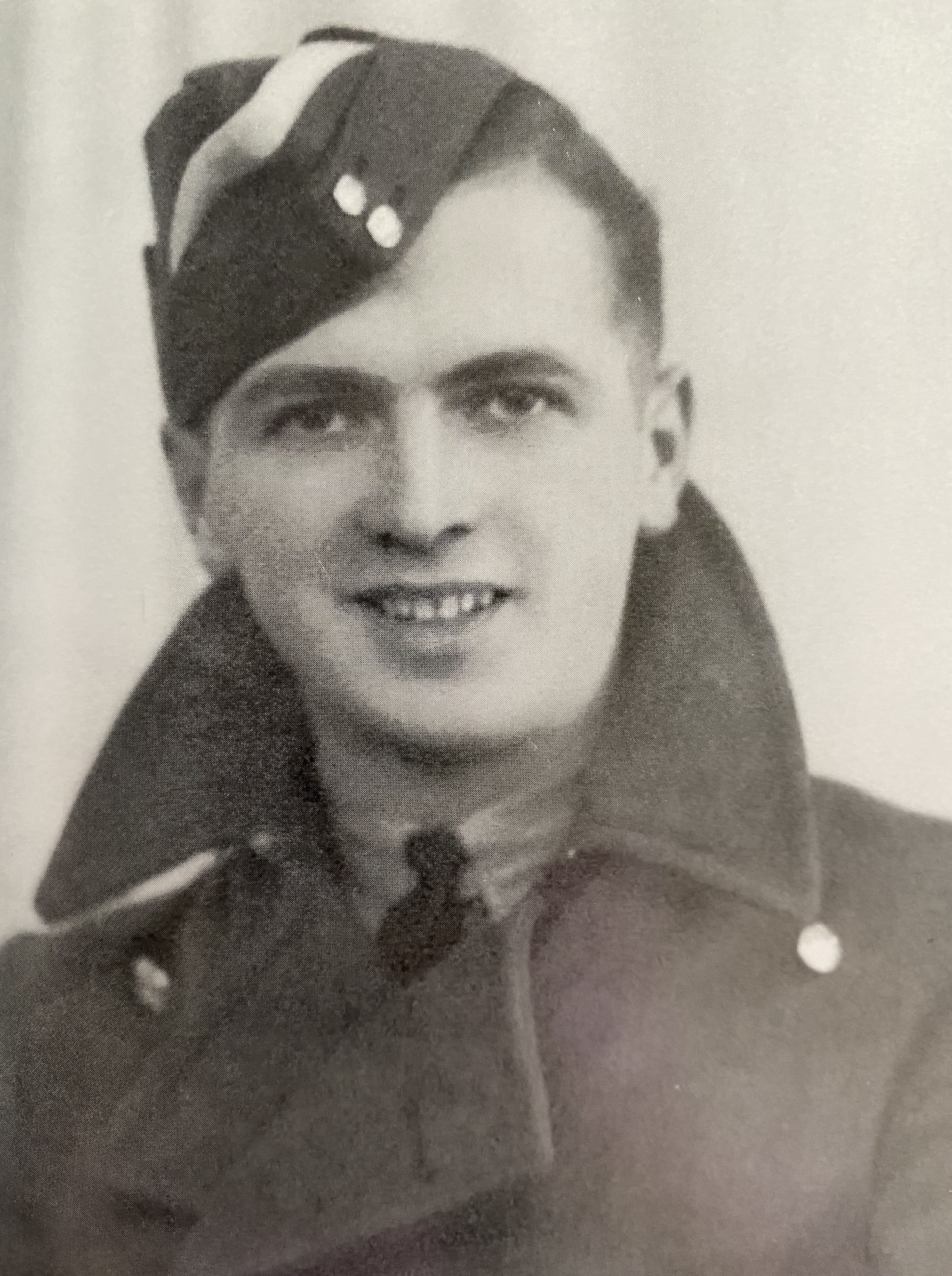 Jack as an Aircrew Trainee, 1942